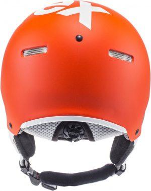 Uvex Hlmt 500 Visor, Orange Mat 2