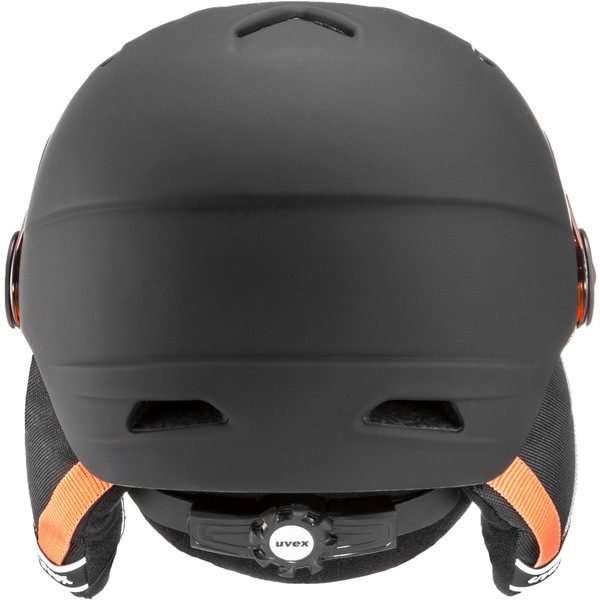 Uvex Junior Visor Pro, Black Orange Mat 3
