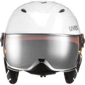Uvex Junior Visor Pro, White Grey 1