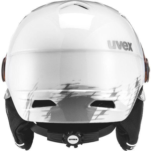 Uvex Junior Visor Pro, White Grey 3