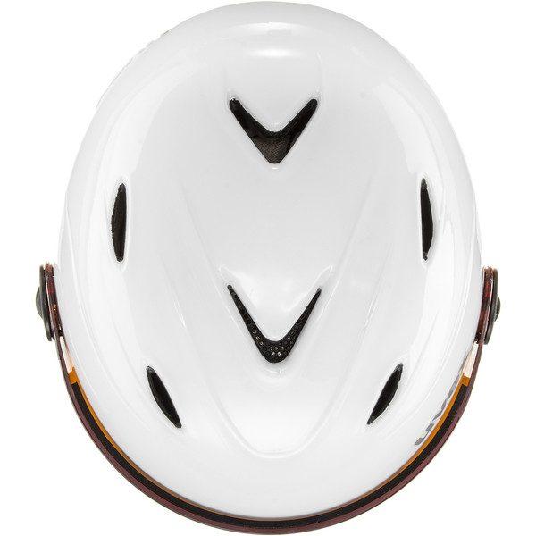 Uvex Junior Visor Pro, White Grey