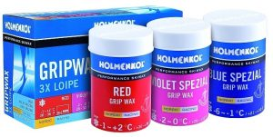 3 x Loipe Grip Wax (24211-24212-24216)