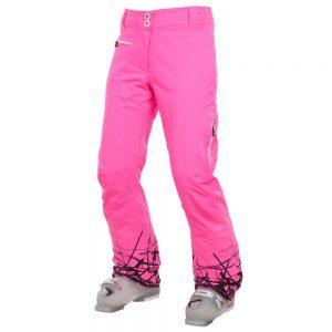W PEARL STR PANT Net FL pink