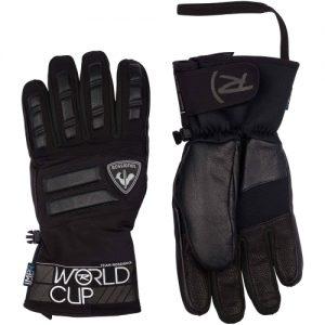 Ski Gloves Rossignol Wc Master Print G Black