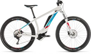 Cube Access Hybrid Pro 400 White´n´blue 2019