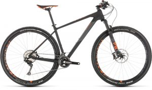 Cube Reaction C62 Race Carbon´n´orange 2019