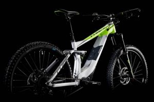 Cube Stereo Hybrid 160 Race 500 27.5 Grey´n´green 1