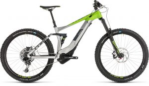 Cube Stereo Hybrid 160 Race 500 27.5 Grey´n´green