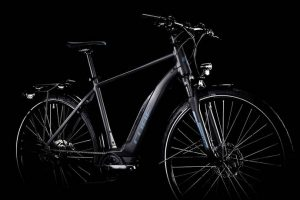 Cube Touring Hybrid One 400 Black´n´blue 2019 1