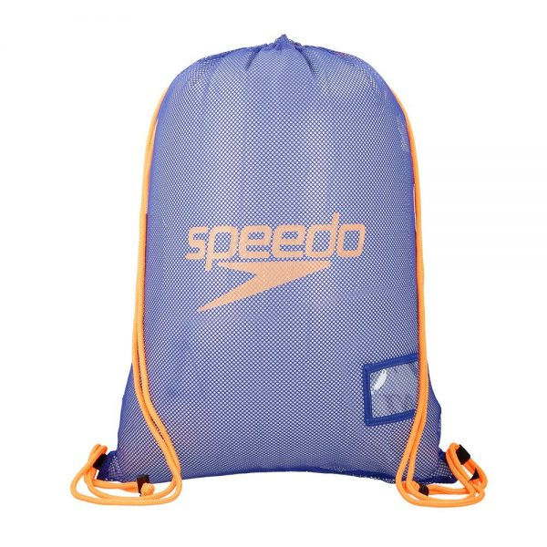 Equipment Mesh Bag, Ultramarine Fluo Orange