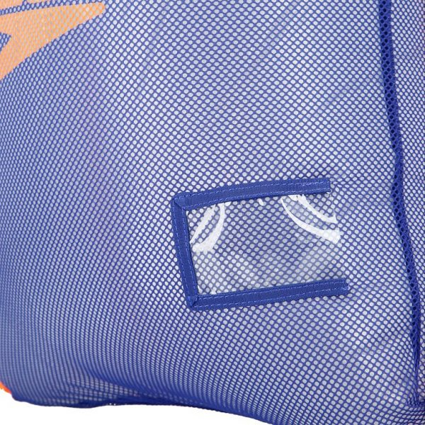 Equipment Mesh Bag, Ultramarine Fluo Orange 2