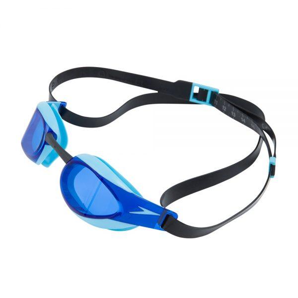 Fastskin3 Elite Goggle, Black,aqua Splash,blue