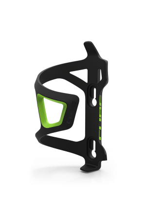 Cube Bottle Cage Hpp Sidecage Black'n'green