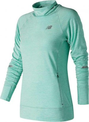 New Balance Water Vapor Heather Nyc Marathon Nb Heat Pullover