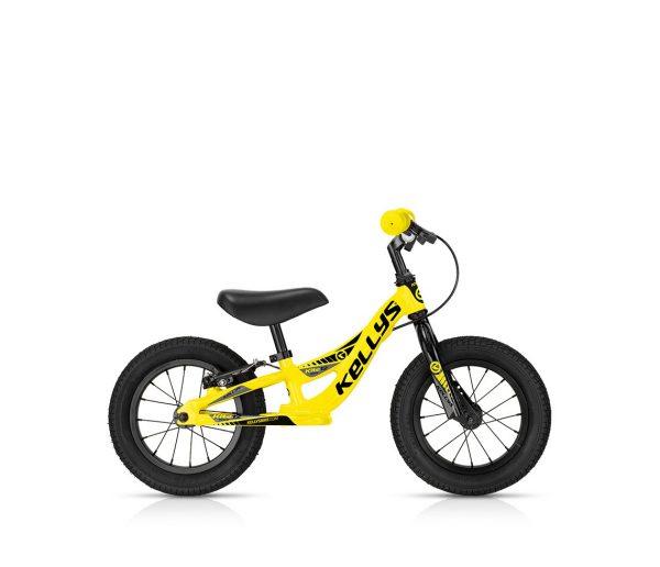 Balance Bike Kellys Kite 12 Race Yellow