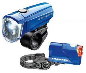 Trelock Ls 350 I Go® Sport Ls 710 Reego Set Blue
