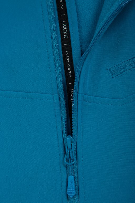 Men's Softshell Sfm600, Blue 2