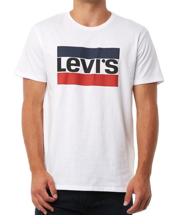 Levi S Logo Graphic T Shirt White 39636 0000 1