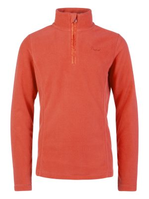 Mutey Jr 1 4 Zip Top, Red Alert